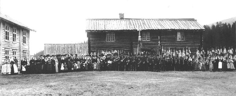 17.mai Gammelstu ca 1880