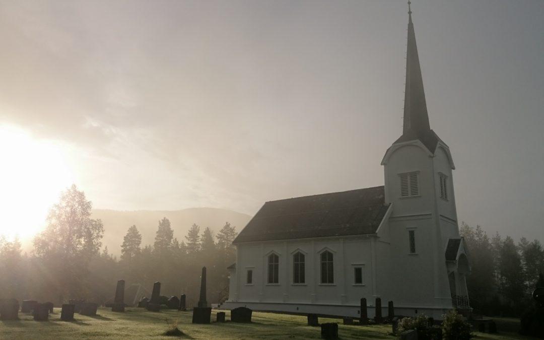 Nymalt kirke!