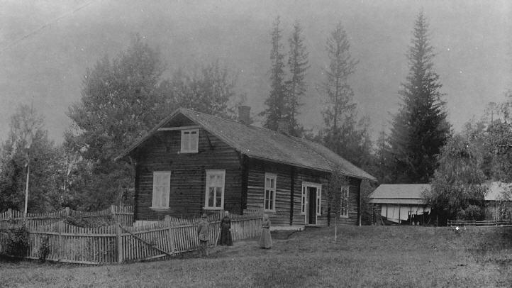 Fredheim på Deset ca 1900